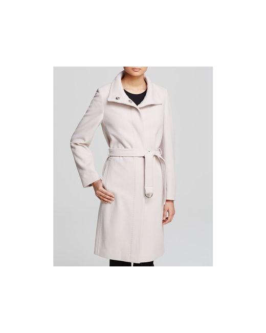 Basler | Silver Coat - Belted | Lyst