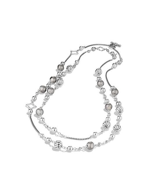 David Yurman | Metallic Bijoux Bead And Chain Necklace | Lyst