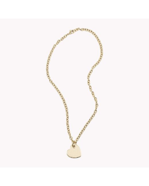 Tommy Hilfiger | Multicolor Heart Necklace | Lyst