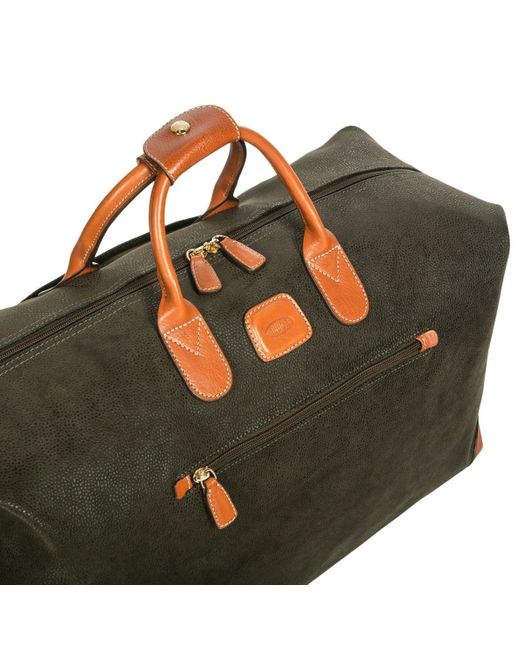Bric's | Brown Life Olive Small Soft Holdall for Men | Lyst