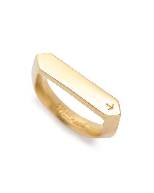 Miansai | Metallic Flat Top Ring for Men | Lyst