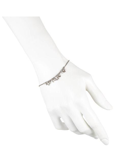 Alexis Bittar | Metallic Miss Havisham Jagged Marquis Cluster Tennis Bracelet | Lyst