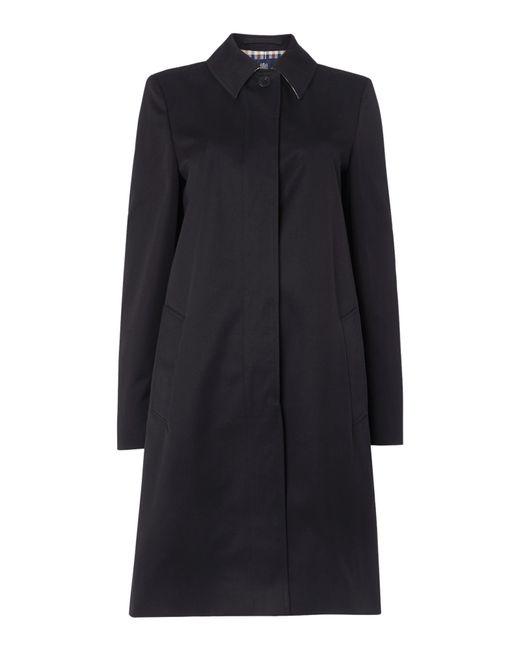 Aquascutum | Blue Dulwich Raincoat | Lyst