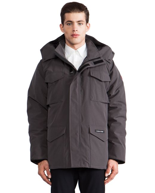Canada Goose vest outlet cheap - Canada goose Constable Parka in Gray for Men (Graphite) | Lyst