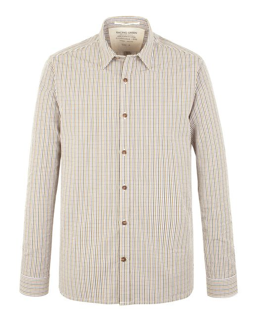 Racing Green | Green George Multi Check Shirt for Men | Lyst