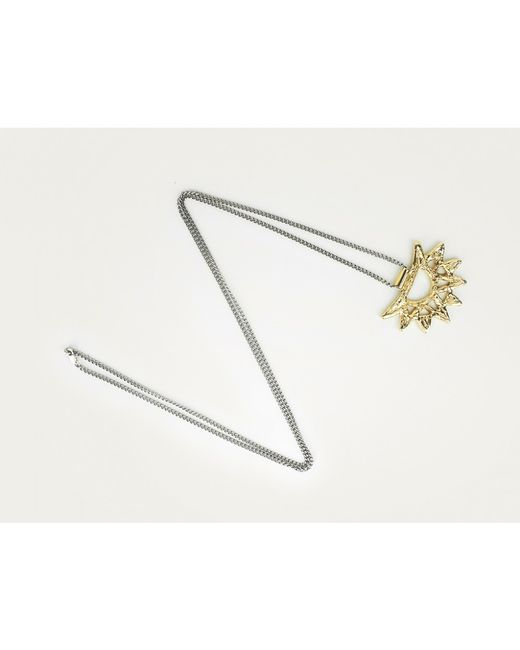 Odette New York | Metallic Freya Necklace | Lyst