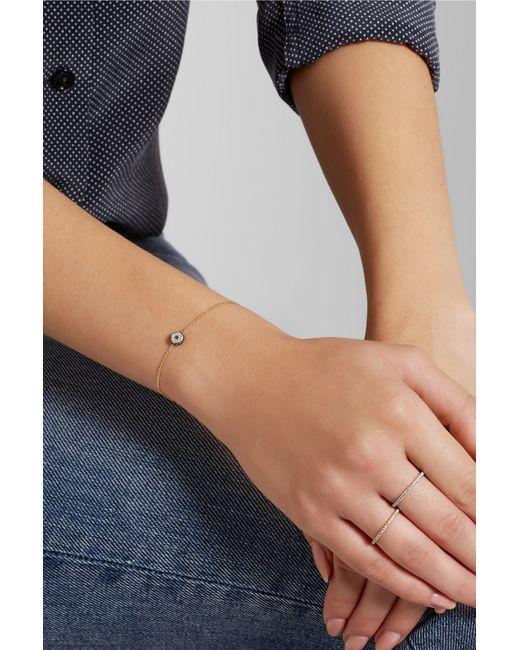 Ileana Makri | Metallic Leda 18-karat Gold, Diamond And Sapphire Bracelet | Lyst