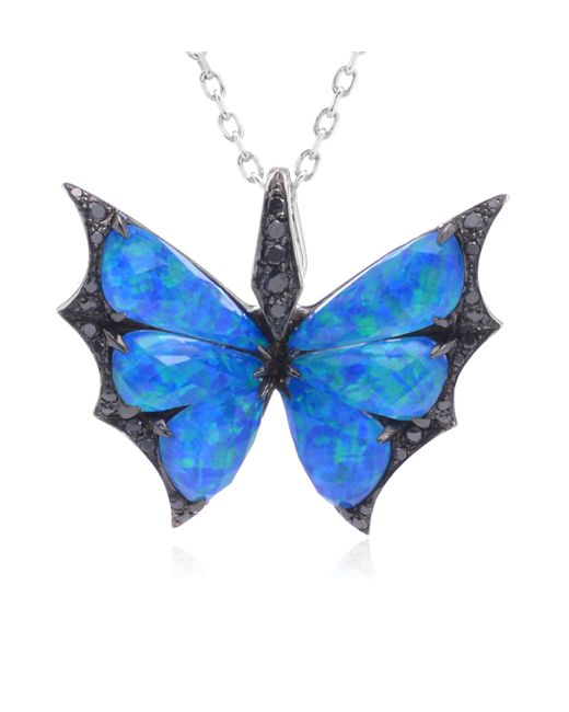 Stephen Webster | Black Fly by Night Butterfly Necklace | Lyst