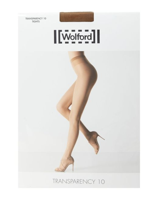 Wolford | Natural Transparency 10 Denier Tights | Lyst