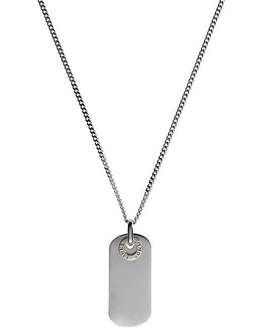Links of London | Metallic Soho Silver Dog Tag Pendant | Lyst
