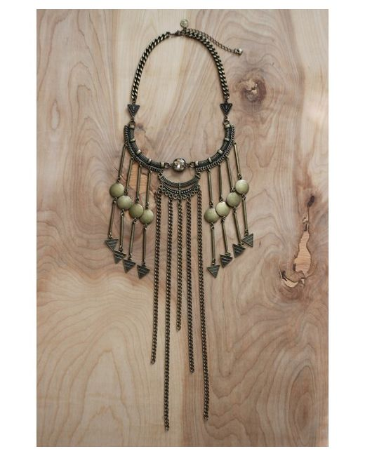 Love Leather | Multicolor Golden Twilight Necklace | Lyst
