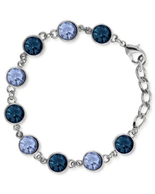 2028 | Metallic Silver-tone Link Bracelet | Lyst