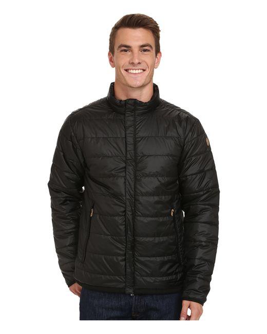 Fjallraven | Black Keb Loft Jacket for Men | Lyst