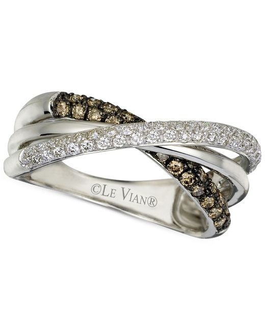 Le Vian | Chocolatier® Diamond Twist Band (1/2 Ct. T.w.) In 14k White Gold | Lyst