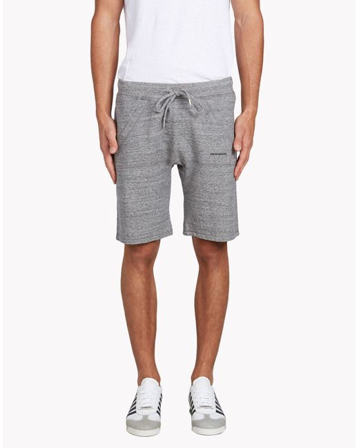 DSquared² | Gray New Dan Fit Shorts for Men | Lyst