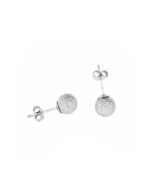 Azendi | Metallic -sterling Silver Stardust Ball Stud Earrin | Lyst
