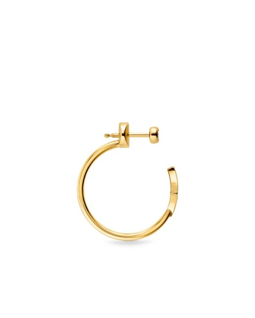 Louis Vuitton | Idylle Blossom Small Hoop Earring, Yellow Gold And Diamond | Lyst