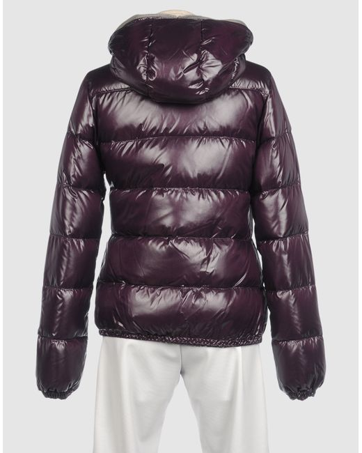 Duvetica | Purple Adhara Hooded Down Jacket | Lyst
