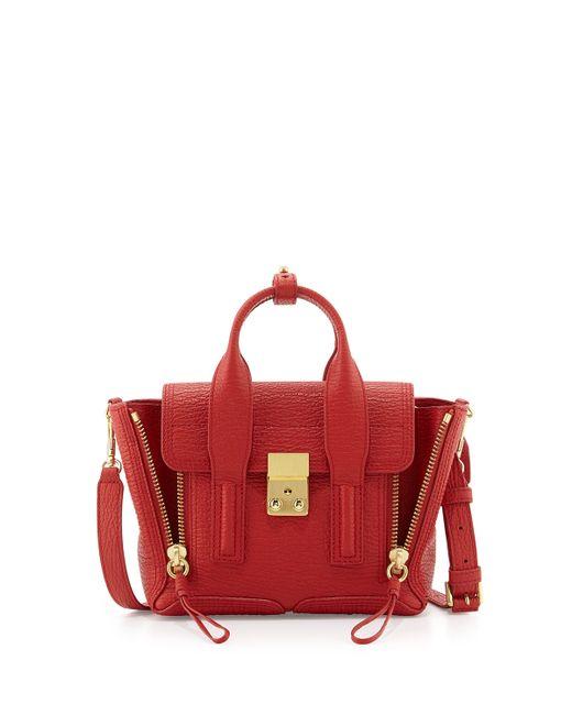 3.1 Phillip Lim | Red Pashli Mini Leather Satchel Bag | Lyst