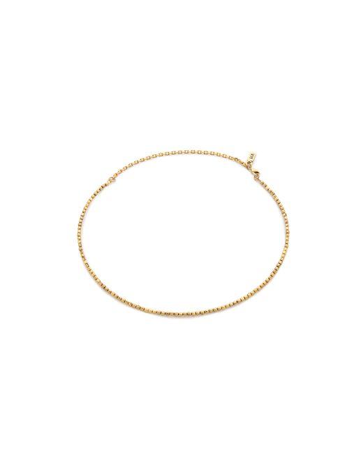 Vanessa Mooney   Metallic The Tiny Bead Choker Necklace   Lyst