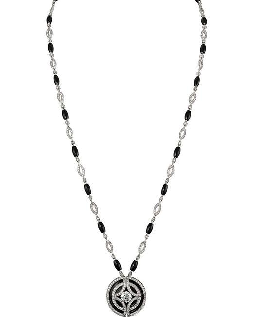 Cartier | Black Galanterie 18ct White-gold | Lyst