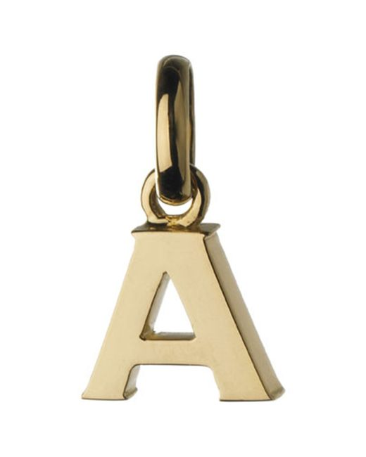 Links of London | Metallic A 18ct Gold Charm | Lyst