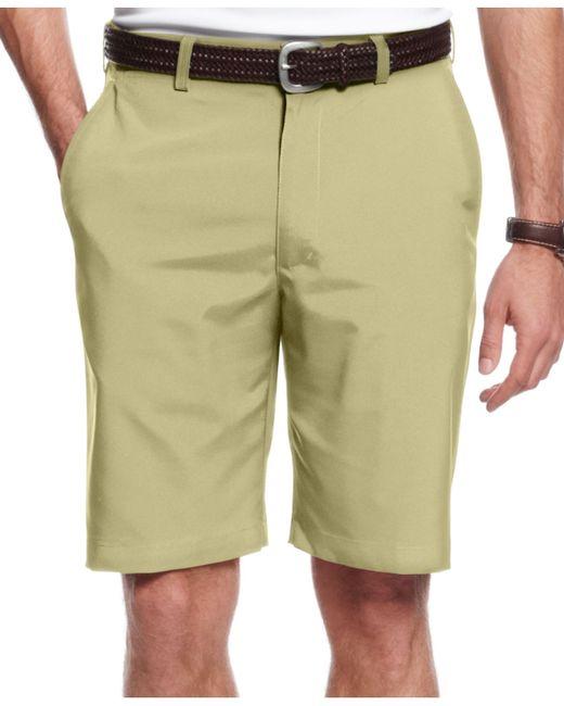 Pga Tour Flat Front Performance Golf Pants