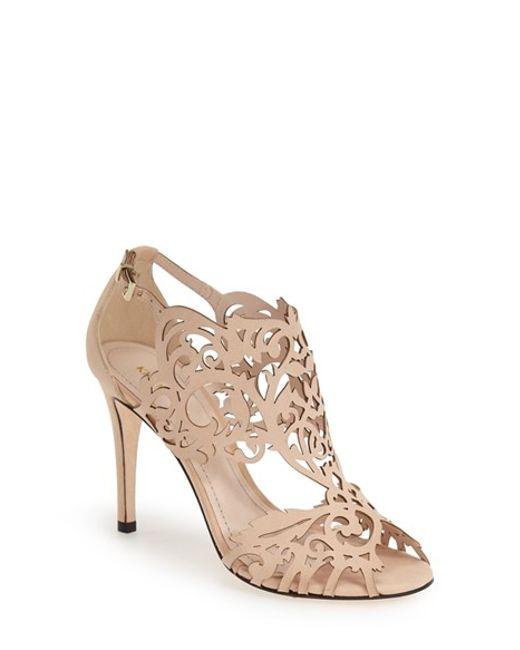 Klub Nico | Natural 'marcela' Laser Cutout Sandal | Lyst