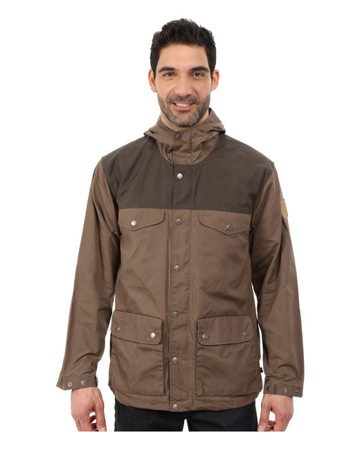 Fjallraven | Brown Greenland Jacket for Men | Lyst