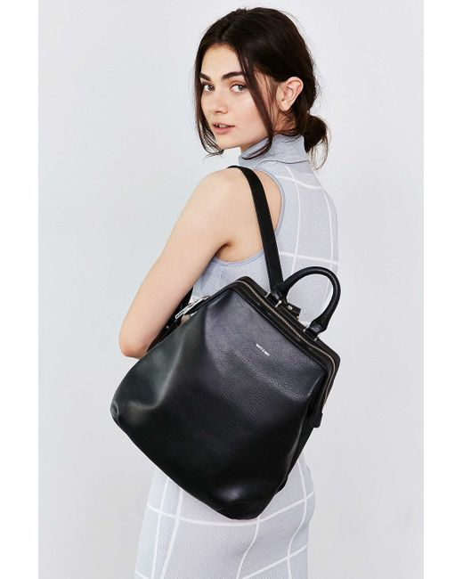 Matt & Nat | Black Vignelli Backpack | Lyst