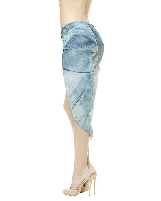 La Perla | Blue Wrap Skirt | Lyst