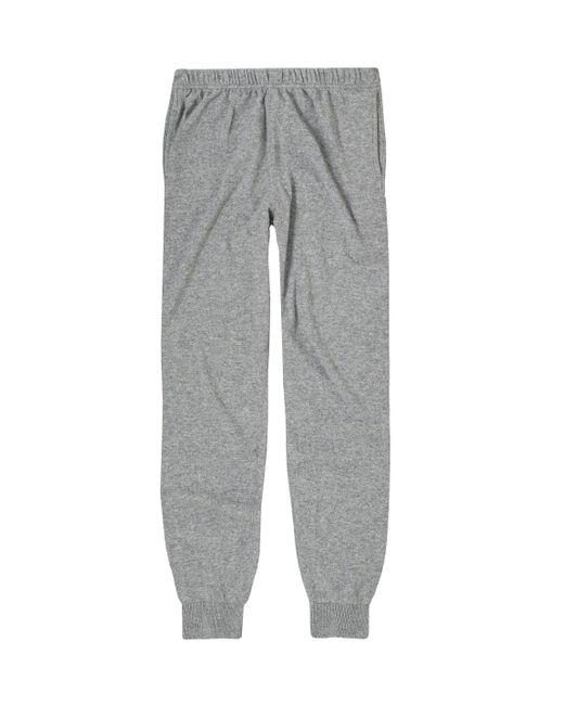 Sunspel | Gray Men's Cashmere Track Pant for Men | Lyst