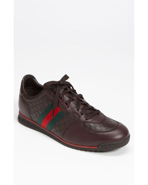 Gucci | Brown 'sl 73' Sneaker for Men | Lyst
