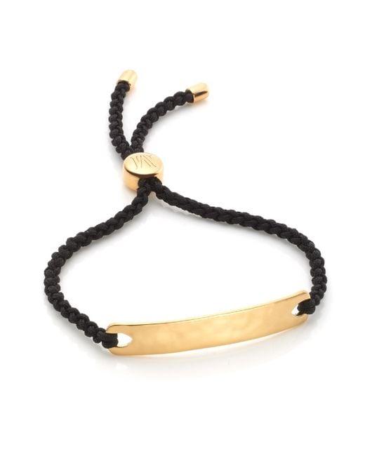 Monica Vinader   Black Havana Friendship Bracelet   Lyst