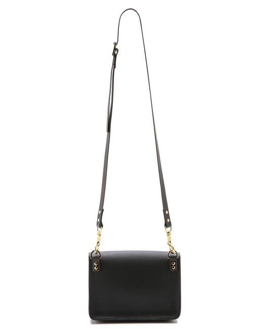 Sophie Hulme | Black Mini Envelope Bag | Lyst