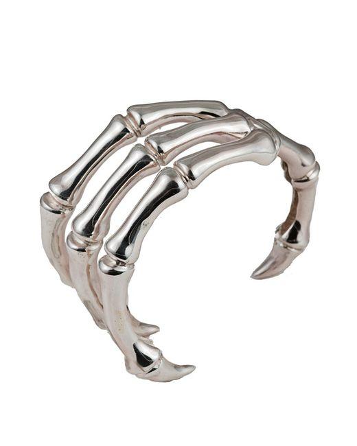 Bernard Delettrez | Metallic Claw Silver Cuff | Lyst