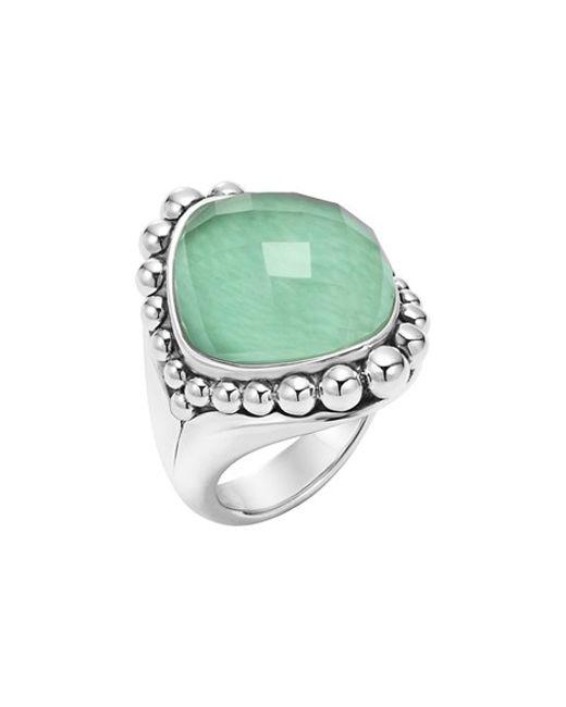 Lagos | Green 'maya' Stone Ring | Lyst