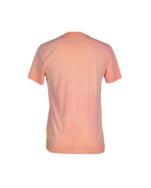 Guess   Pink T-shirt for Men   Lyst