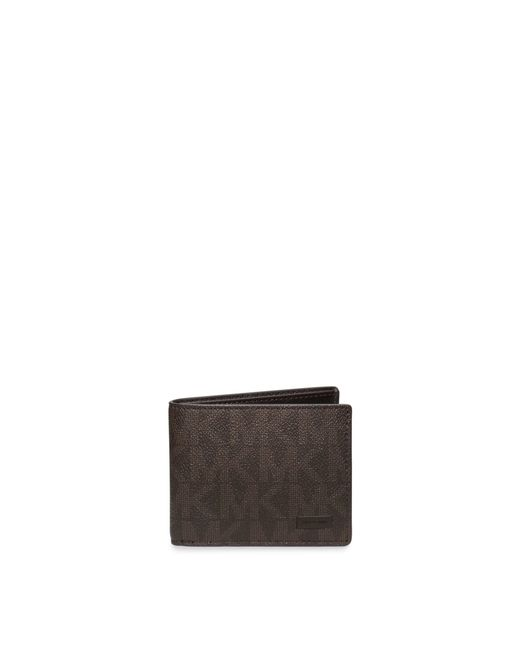Michael Kors | Brown Jet Set Slim Billfold Wallet for Men | Lyst
