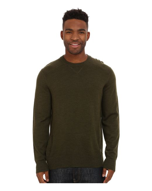 Smartwool | Green Kiva Ridge Crew Sweater for Men | Lyst