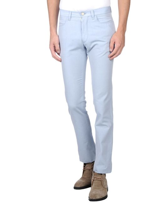 Corneliani | Blue Casual Pants for Men | Lyst