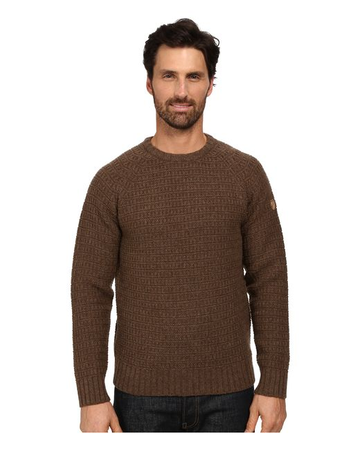 Fjallraven | Brown Sörmland Roundneck Sweater for Men | Lyst