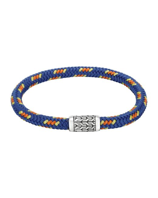 John Hardy | Blue Men's Classic Chain Multicolor Cord Bracelet for Men | Lyst