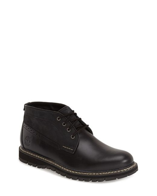 Timberland | Black Britton Hill Waterproof Chukka Boot for Men | Lyst