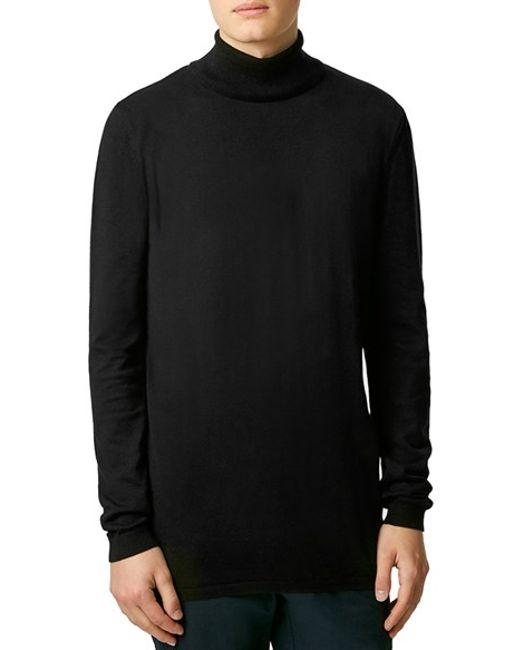 Topman Black Textured Cardigan 18