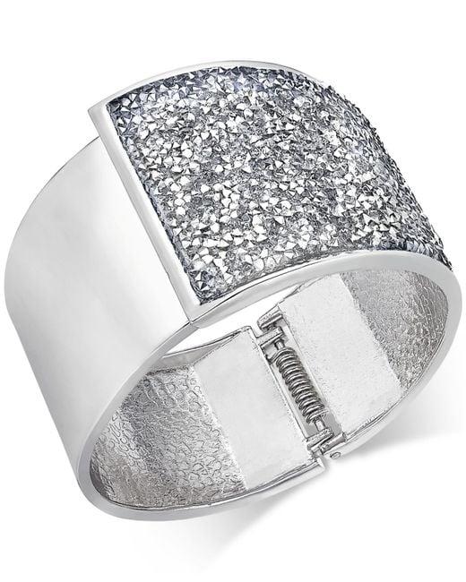 INC International Concepts | Metallic Hematite-tone Coil Wrap Beaded Bracelet, Only At Macy's | Lyst