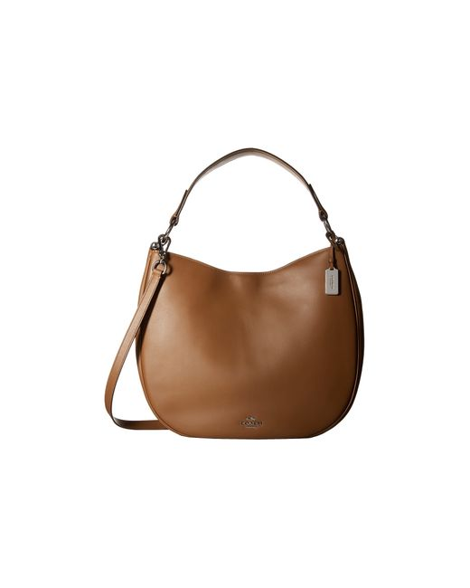 COACH | Brown Natural Calf Nomad Hobo | Lyst