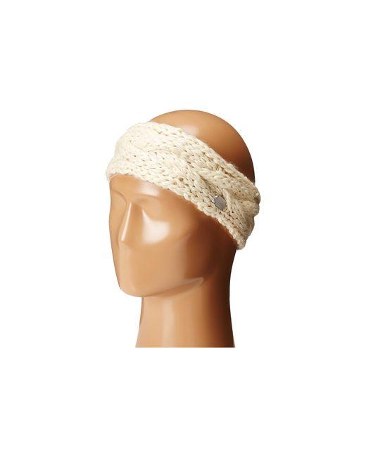 Coal | White The Greer Headband | Lyst