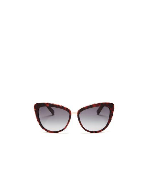 Kate Spade | Purple Kandi Combo Cat Eye Sunglasses, 56mm - Bloomingdale's Exclusive | Lyst