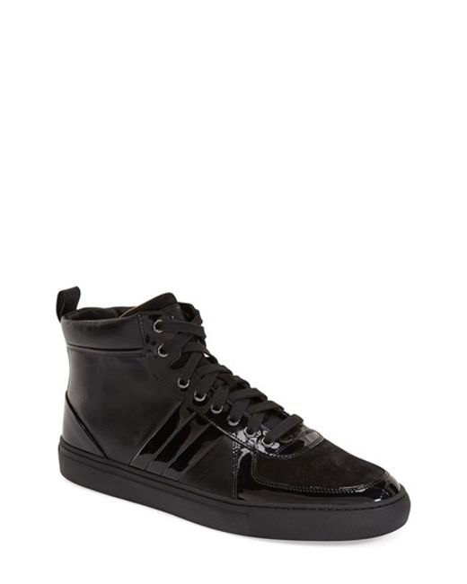 Bally | Black 'hervey' Leather Sneaker for Men | Lyst